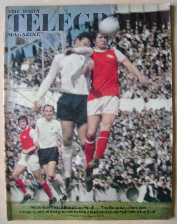 <!--1970-12-04-->The Daily Telegraph magazine - Tottenham Hotspur / Arsenal