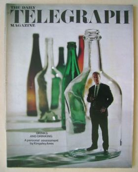 The Daily Telegraph magazine - Drinks and Drinking cover (20 November 1970)