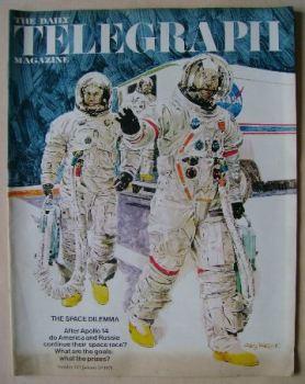 The Daily Telegraph magazine - Apollo 14 Astronauts cover (29 January 1971)