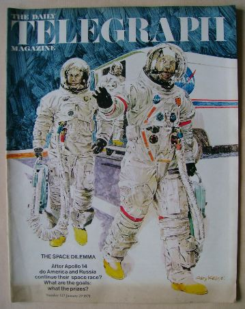<!--1971-01-29-->The Daily Telegraph magazine - Apollo 14 Astronauts cover