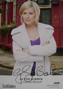 Glynis Barber autograph (EastEnders actor)