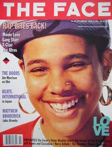 <!--1990-11-->The Face magazine - Monie Love cover (November 1990 - Volume