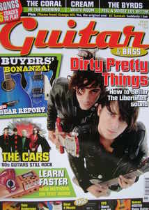 Guitar & Bass magazine - Dirty Pretty Things cover (July 2006)