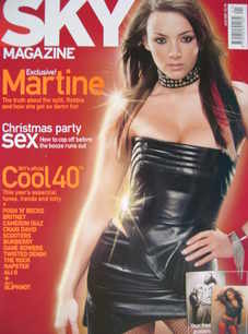 Sky magazine - Martine McCutcheon cover (January 2001)
