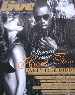 <!--2008-06-15-->Live magazine - P Diddy cover (15 June 2008)
