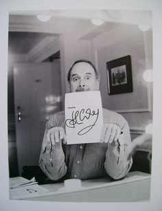 John Cleese autograph