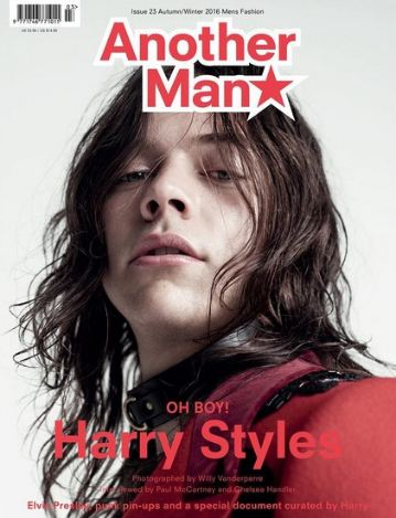 <!--2016-09-->Another Man magazine - Autumn/Winter 2016 - Harry Style cover