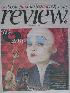 The Daily Telegraph Review newspaper supplement - 2 January 2010 - Helena B