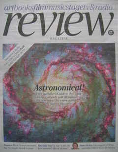The Daily Telegraph Review newspaper supplement - 10 October 2009 - Astrono