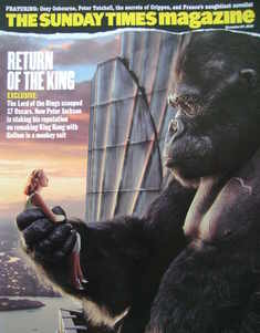 <!--2005-11-27-->The Sunday Times magazine - Return Of The King cover (27 N