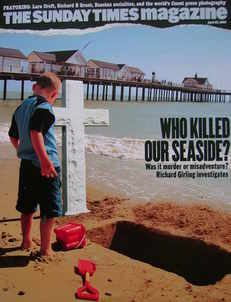 <!--2006-04-23-->The Sunday Times magazine - Who Killed Our Seaside cover (