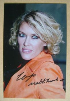 Cerys Matthews autograph