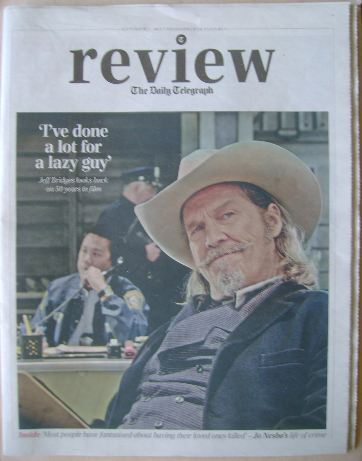 The Daily Telegraph Review newspaper supplement - 7 September 2013 - Jeff B