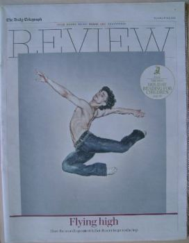 The Daily Telegraph Review newspaper supplement - 11 July 2015 - Ivan Vasiliev cover