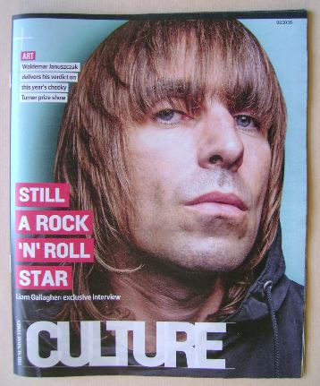 <!--2016-10-02-->Culture magazine - Liam Gallagher cover (2 October 2016)