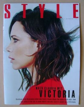 Style magazine - Victoria Beckham cover (2 October 2016)