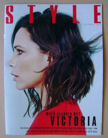 <!--2016-10-02-->Style magazine - Victoria Beckham cover (2 October 2016)