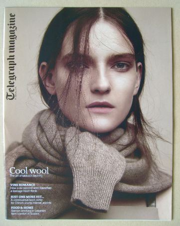 <!--2015-01-17-->Telegraph magazine - Cool Wool cover (17 January 2015)