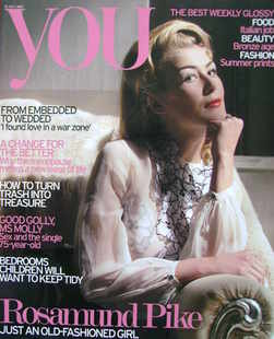 <!--2007-07-15-->You magazine - Rosamund Pike cover (15 July 2007)