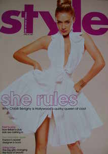 <!--2007-04-29-->Style magazine - Chloe Sevigny cover (29 April 2007)