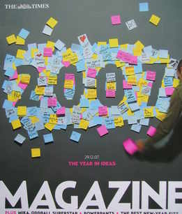 <!--2007-12-29-->The Times magazine - The Year In Ideas cover (29 December
