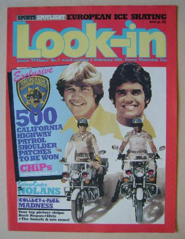 <!--1981-02-07-->Look In magazine (7 February 1981)