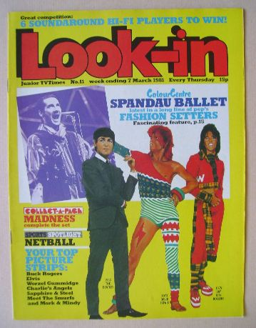 <!--1981-03-07-->Look In magazine - 7 March 1981