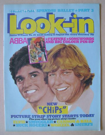 <!--1981-08-22-->Look In magazine (22 August 1981)