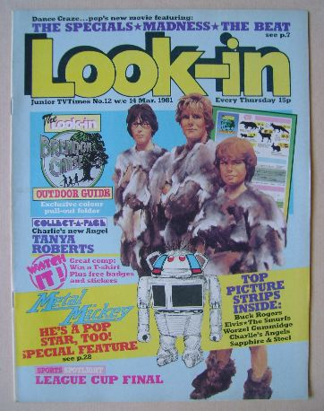 <!--1981-03-14-->Look In magazine - 14 March 1981