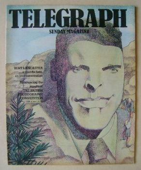 The Sunday Telegraph magazine - Burt Lancaster cover (12 December 1976)