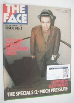 The Face magazine - The Specials cover (May 1980 - Issue 1)