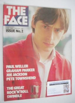 The Face magazine - Paul Weller cover (June 1980 - Issue 2)
