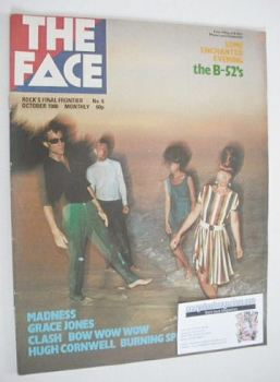The Face magazine - The B-52's cover (October 1980 - Issue 6)