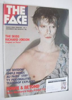 The Face magazine - David Bowie cover (November 1980 - Issue 7)