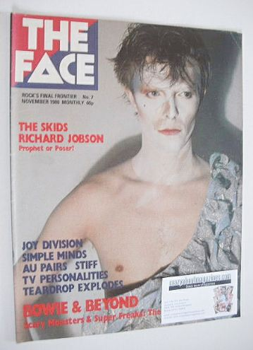<!--1980-11-->The Face magazine - David Bowie cover (November 1980 - Issue