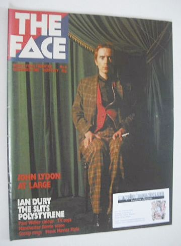 <!--1980-12-->The Face magazine - John Lydon cover (December 1980 - Issue 8