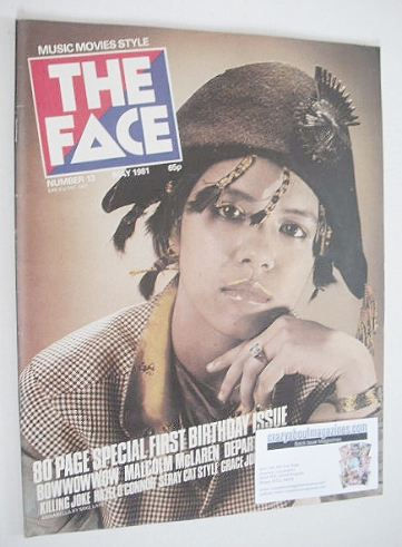 <!--1981-05-->The Face magazine - Annabella Lwin cover (May 1981 - Issue 13