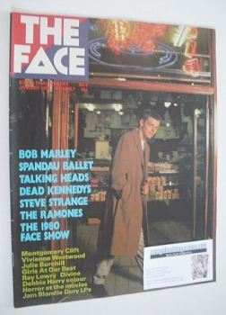 The Face magazine - Suggs cover (January 1981 - Issue 9)