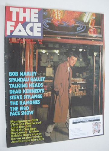 <!--1981-01-->The Face magazine - Suggs cover (January 1981 - Issue 9)