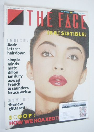 <!--1984-04-->The Face magazine - Sade cover (April 1984 - Issue 48)