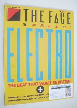 The Face magazine - Electro cover (May 1984 - Issue 49)