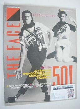 The Face magazine - Bodylicious cover (June 1984 - Issue 50)