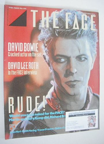 <!--1984-10-->The Face magazine - David Bowie cover (October 1984 - Issue 5
