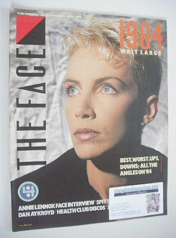 <!--1985-01-->The Face magazine - Annie Lennox cover (January 1985 - Issue