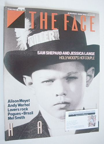 <!--1985-03-->The Face magazine - Hard cover (March 1985 - Issue 59)