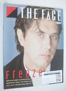 The Face magazine - Bryan Ferry cover (April 1985 - Issue 60)