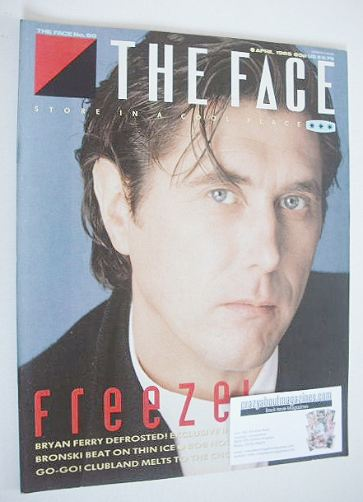 <!--1985-04-->The Face magazine - Bryan Ferry cover (April 1985 - Issue 60)