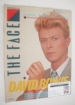 The Face magazine - David Bowie cover (May 1983 - Issue 37)