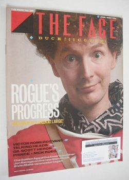 The Face magazine - Malcolm McLaren cover (June 1983 - Issue 38)