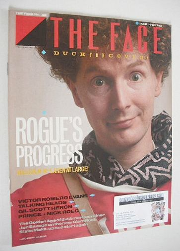 <!--1983-06-->The Face magazine - Malcolm McLaren cover (June 1983 - Issue
